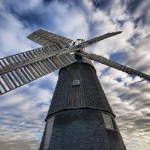 Wicken Village Mill